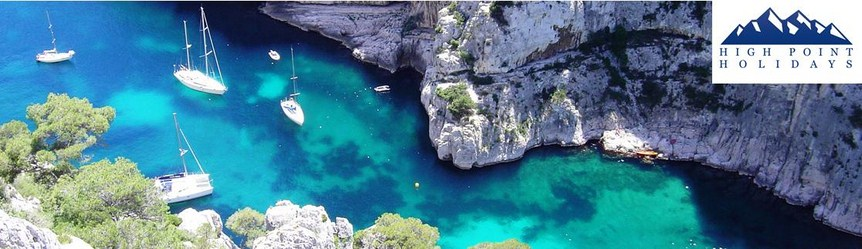 High Point Holidays independent walking holidays in Provence calanques coast